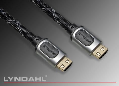 Lyndahl HDMI 2.0 Kabel High Speed mit Ethernet SL-P 5m 5m